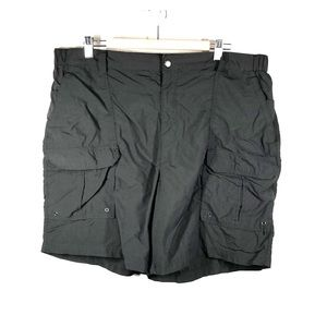 Croft & Barrow gray cargo shorts size 40